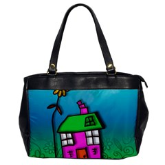 Cartoon Grunge Cat Wallpaper Background Office Handbags