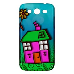 Cartoon Grunge Cat Wallpaper Background Samsung Galaxy Mega 5 8 I9152 Hardshell Case