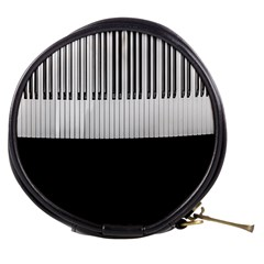 Piano Keys On The Black Background Mini Makeup Bags