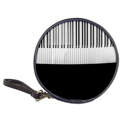 Piano Keys On The Black Background Classic 20 Cd Wallets