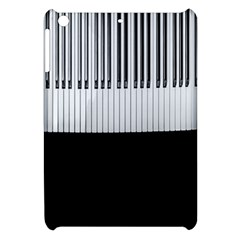 Piano Keys On The Black Background Apple iPad Mini Hardshell Case