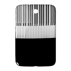 Piano Keys On The Black Background Samsung Galaxy Note 8.0 N5100 Hardshell Case