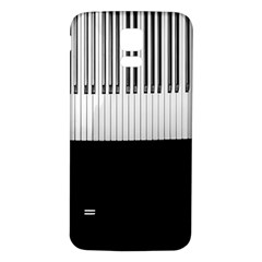 Piano Keys On The Black Background Samsung Galaxy S5 Back Case (white)