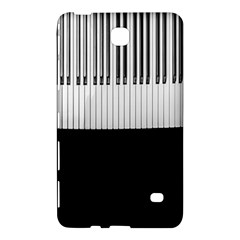 Piano Keys On The Black Background Samsung Galaxy Tab 4 (7 ) Hardshell Case