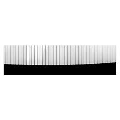 Piano Keys On The Black Background Satin Scarf (Oblong)