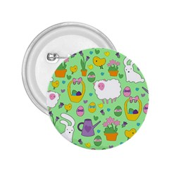 Cute Easter pattern 2.25  Buttons