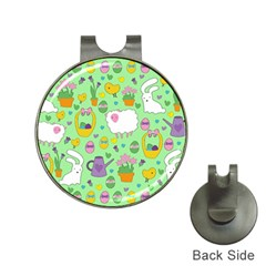 Cute Easter pattern Hat Clips with Golf Markers