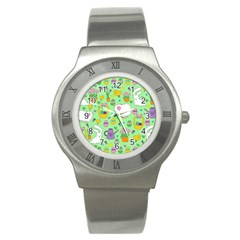 Cute Easter pattern Stainless Steel Watch