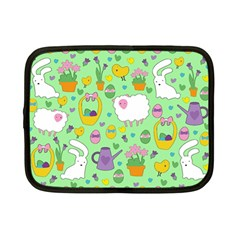 Cute Easter pattern Netbook Case (Small)