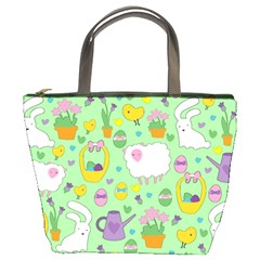 Cute Easter pattern Bucket Bags