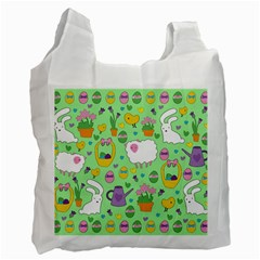 Cute Easter pattern Recycle Bag (One Side)