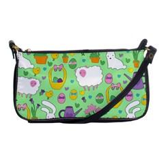 Cute Easter pattern Shoulder Clutch Bags