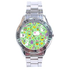 Cute Easter pattern Stainless Steel Analogue Watch