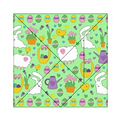 Cute Easter pattern Acrylic Tangram Puzzle (6  x 6 )