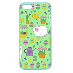 Cute Easter pattern Apple Seamless iPhone 5 Case (Color)