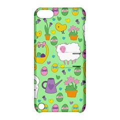 Cute Easter pattern Apple iPod Touch 5 Hardshell Case with Stand