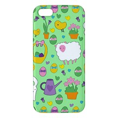 Cute Easter pattern iPhone 5S/ SE Premium Hardshell Case