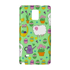 Cute Easter pattern Samsung Galaxy Note 4 Hardshell Case