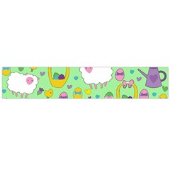 Cute Easter pattern Flano Scarf (Large)