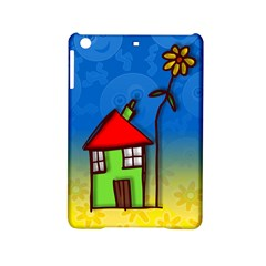 Colorful Illustration Of A Doodle House Ipad Mini 2 Hardshell Cases