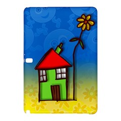 Colorful Illustration Of A Doodle House Samsung Galaxy Tab Pro 10 1 Hardshell Case