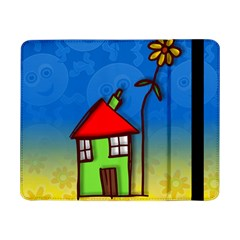 Colorful Illustration Of A Doodle House Samsung Galaxy Tab Pro 8.4  Flip Case