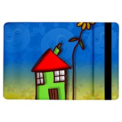 Colorful Illustration Of A Doodle House Ipad Air Flip