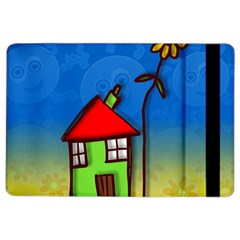 Colorful Illustration Of A Doodle House iPad Air 2 Flip