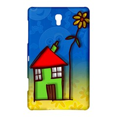Colorful Illustration Of A Doodle House Samsung Galaxy Tab S (8.4 ) Hardshell Case