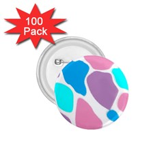 Baby Pink Girl Party Pattern Colorful Background Art Digital 1.75  Buttons (100 pack)