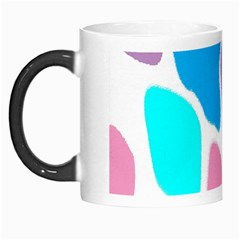 Baby Pink Girl Party Pattern Colorful Background Art Digital Morph Mugs