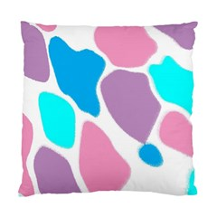 Baby Pink Girl Party Pattern Colorful Background Art Digital Standard Cushion Case (One Side)