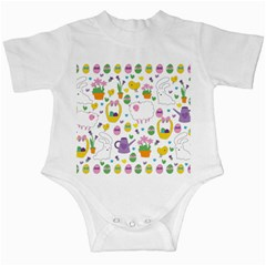 Cute Easter pattern Infant Creepers