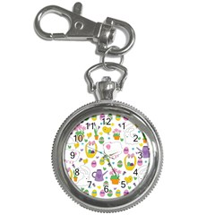 Cute Easter pattern Key Chain Watches