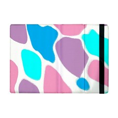 Baby Pink Girl Party Pattern Colorful Background Art Digital Apple iPad Mini Flip Case