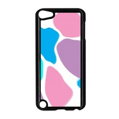 Baby Pink Girl Party Pattern Colorful Background Art Digital Apple iPod Touch 5 Case (Black)