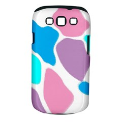 Baby Pink Girl Party Pattern Colorful Background Art Digital Samsung Galaxy S III Classic Hardshell Case (PC+Silicone)