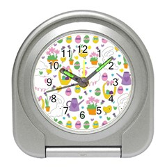 Cute Easter pattern Travel Alarm Clocks