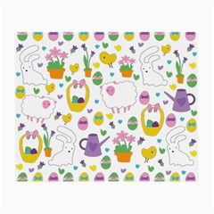 Cute Easter pattern Small Glasses Cloth