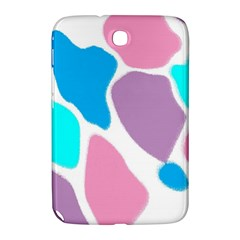 Baby Pink Girl Party Pattern Colorful Background Art Digital Samsung Galaxy Note 8 0 N5100 Hardshell Case
