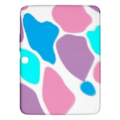 Baby Pink Girl Party Pattern Colorful Background Art Digital Samsung Galaxy Tab 3 (10 1 ) P5200 Hardshell Case