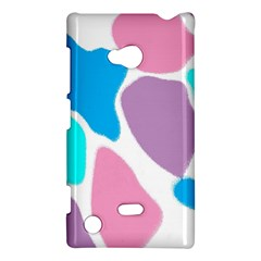 Baby Pink Girl Party Pattern Colorful Background Art Digital Nokia Lumia 720