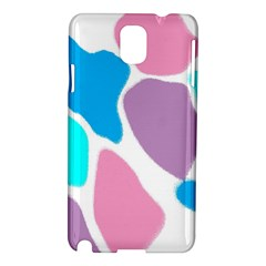 Baby Pink Girl Party Pattern Colorful Background Art Digital Samsung Galaxy Note 3 N9005 Hardshell Case