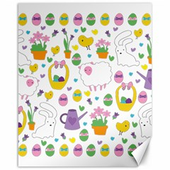 Cute Easter pattern Canvas 16  x 20