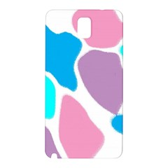 Baby Pink Girl Party Pattern Colorful Background Art Digital Samsung Galaxy Note 3 N9005 Hardshell Back Case