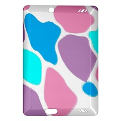 Baby Pink Girl Party Pattern Colorful Background Art Digital Amazon Kindle Fire HD (2013) Hardshell Case
