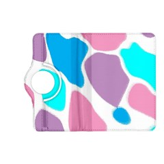 Baby Pink Girl Party Pattern Colorful Background Art Digital Kindle Fire HD (2013) Flip 360 Case