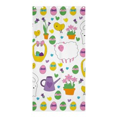 Cute Easter pattern Shower Curtain 36  x 72  (Stall)