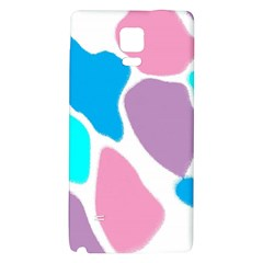 Baby Pink Girl Party Pattern Colorful Background Art Digital Galaxy Note 4 Back Case