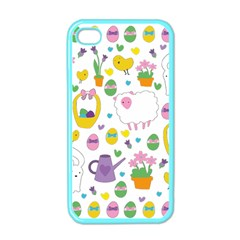 Cute Easter pattern Apple iPhone 4 Case (Color)